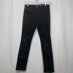 Children's Place Girls Black Jeans Size 12